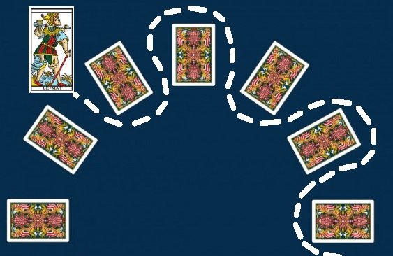 "La carte du tarot ""Le Mat"" 1403301116373850012108944"