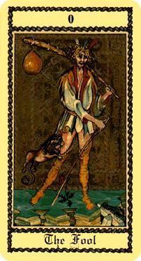 "La carte du tarot ""Le Mat"" 1403310959413850012111471"
