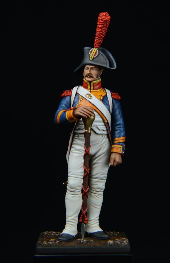 Vitrine de Bernard.S (Métal Modèles, bien entendu...) Trompette des 9ème et 7ème Hussards - Page 3 1403311226233593412111182
