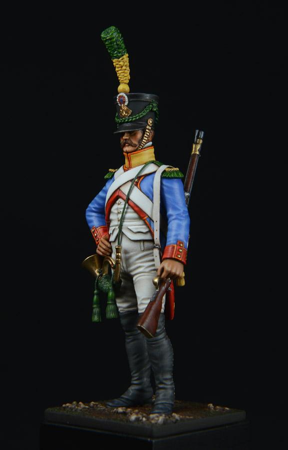 Vitrine de Bernard.S (Métal Modèles, bien entendu...) Trompette des 9ème et 7ème Hussards - Page 3 1403311227343593412111186