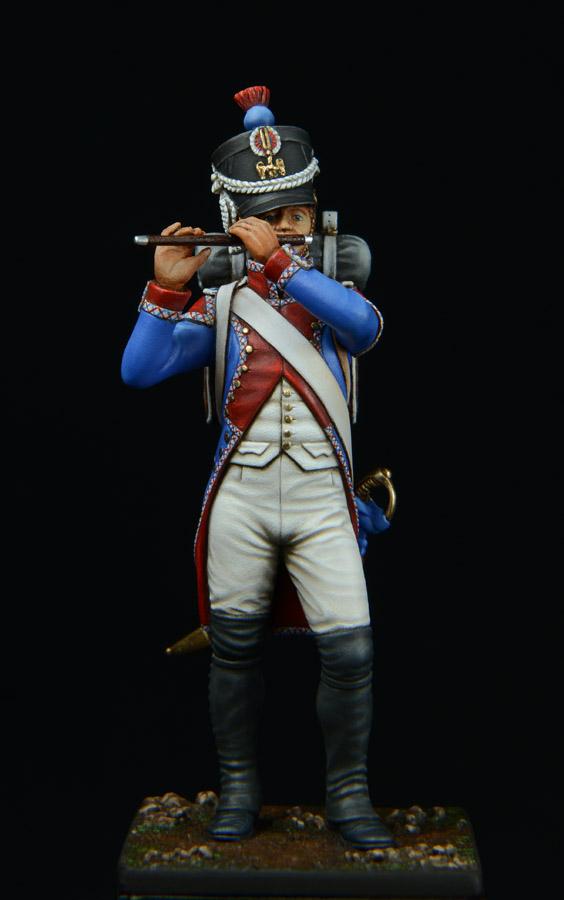 Vitrine de Bernard.S (Métal Modèles, bien entendu...) Trompette des 9ème et 7ème Hussards - Page 2 1403311227513593412111187