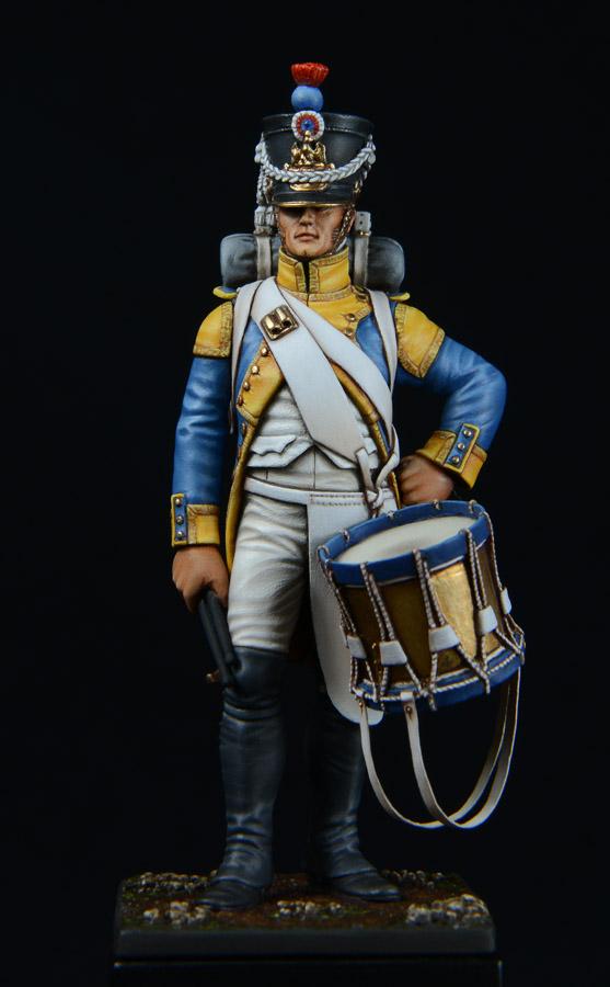 Vitrine de Bernard.S (Métal Modèles, bien entendu...) Trompette des 9ème et 7ème Hussards - Page 3 1403311229263593412111194