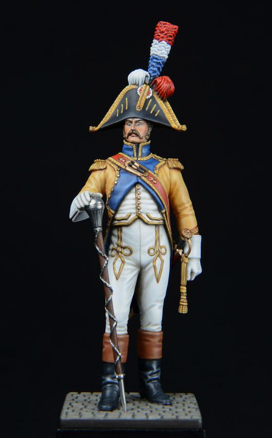 Vitrine de Bernard.S (Métal Modèles, bien entendu...) Trompette des 9ème et 7ème Hussards - Page 2 1403311232513593412111206