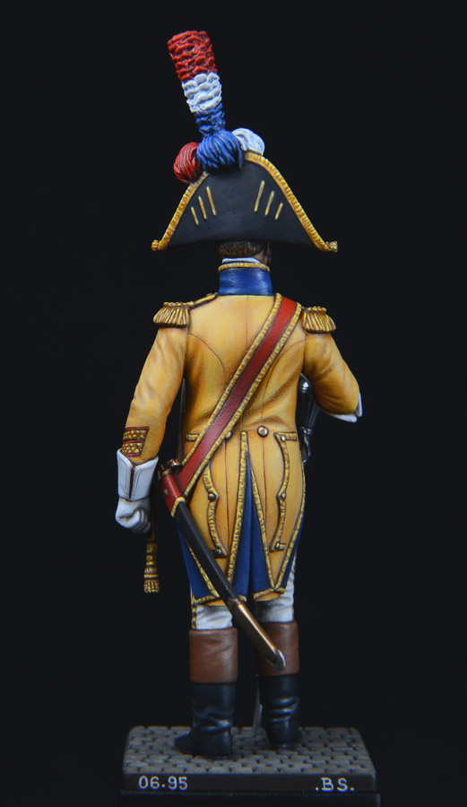 Vitrine de Bernard.S (Métal Modèles, bien entendu...) Trompette des 9ème et 7ème Hussards - Page 2 1403311234393593412111207