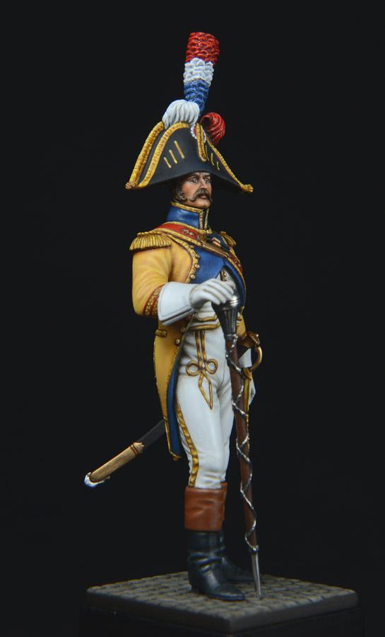 Vitrine de Bernard.S (Métal Modèles, bien entendu...) Trompette des 9ème et 7ème Hussards - Page 2 1403311235153593412111209