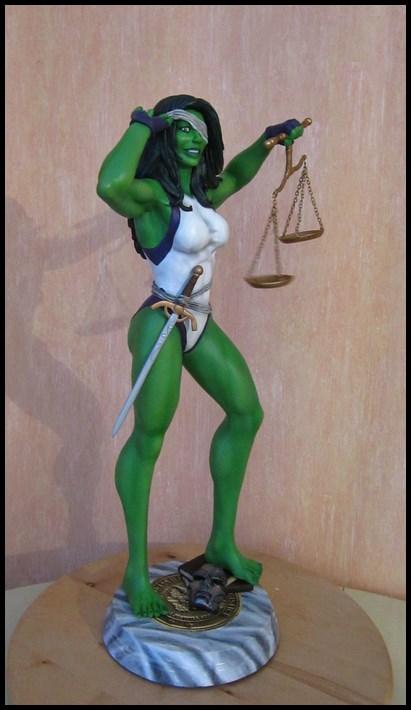 She-Hulk statue 1/4  14040108050316083612115727