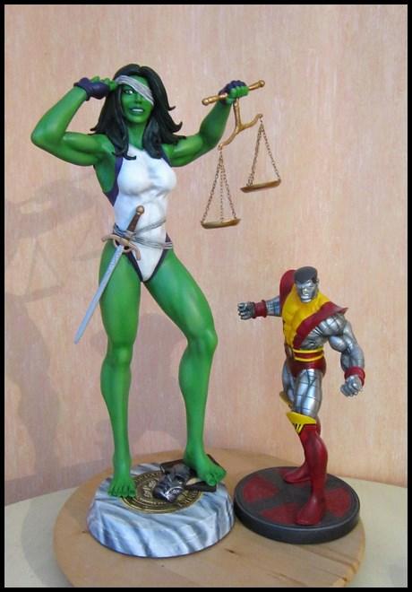 She-Hulk statue 1/4  14040108050816083612115730