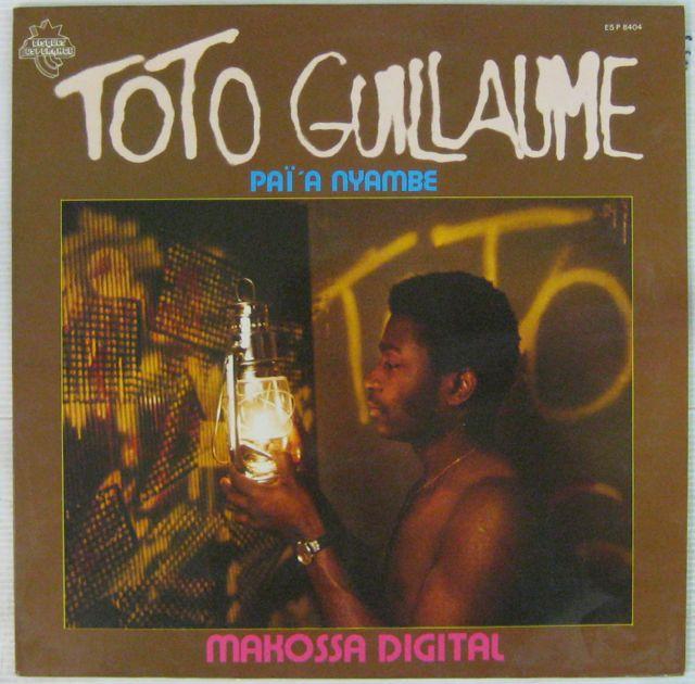 TOTO GUILLAUME - Makossa digital - 33T