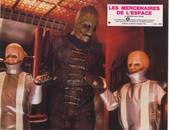 INSTANTANÉS : LES MERCENAIRES DE L'ESPACE (1980) dans CINÉMA 14040301060015263612119489