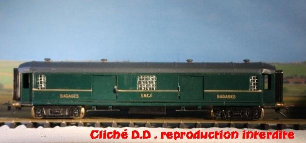 WAGONS  MARTIN Iére série fabriqués vers 1948 14040507451016773112125197