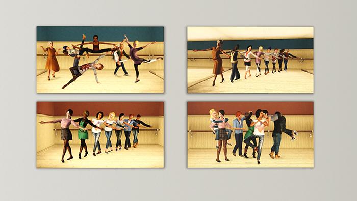 Tableaux Elèves de l'école de danse Forum