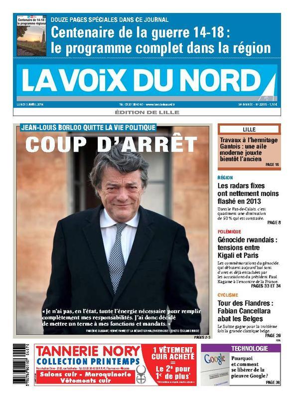 Jean-Louis Borloo, oud-burgemeester van Valenciennes  14040709115914196112129470