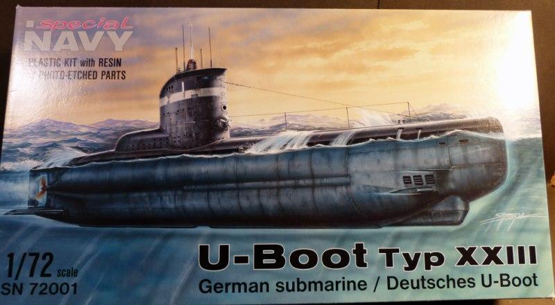 """U-BOOT type XXIII """"spécial navy"""" 1/72 1404070941029667012131531"""