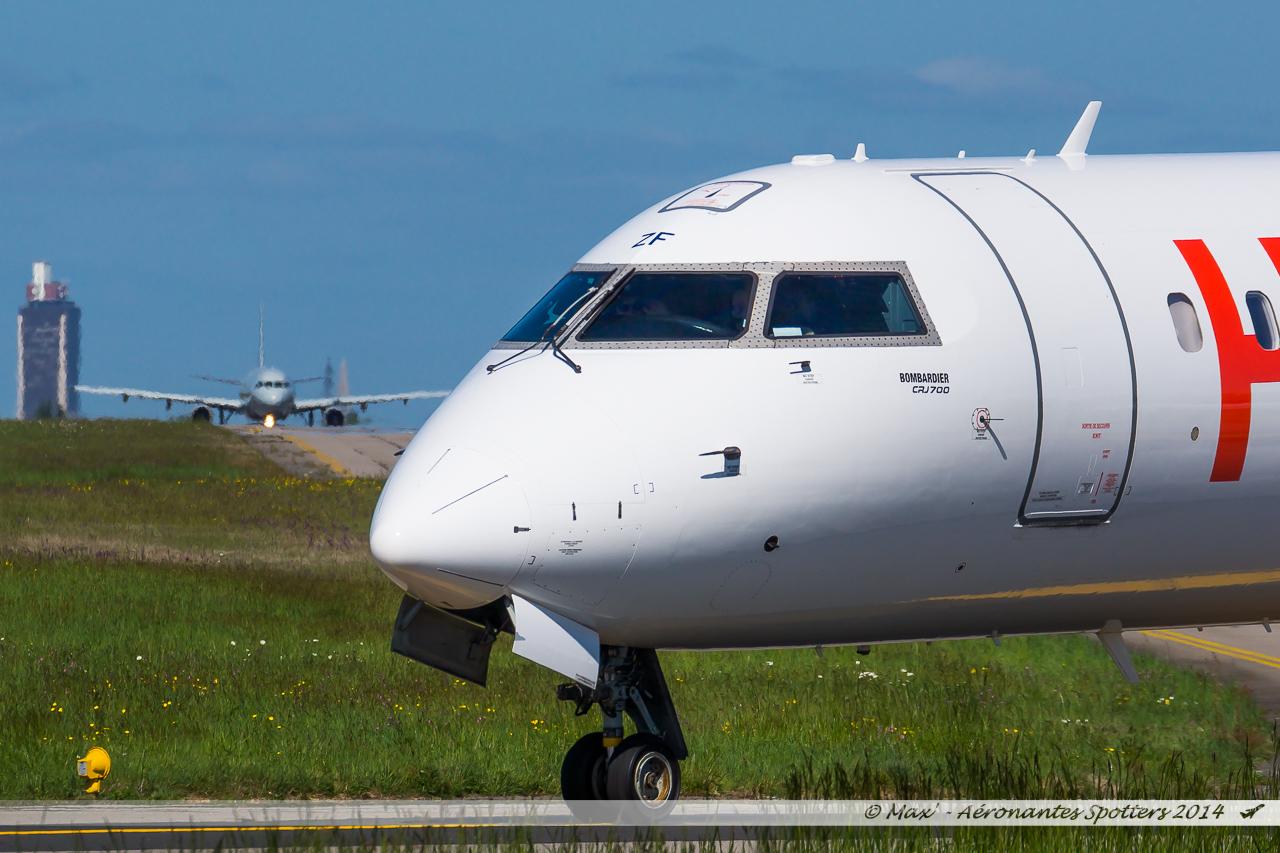 Spotting du 09/04/2014 : A321 Belgium Air Force ! 14040909040617438712136482
