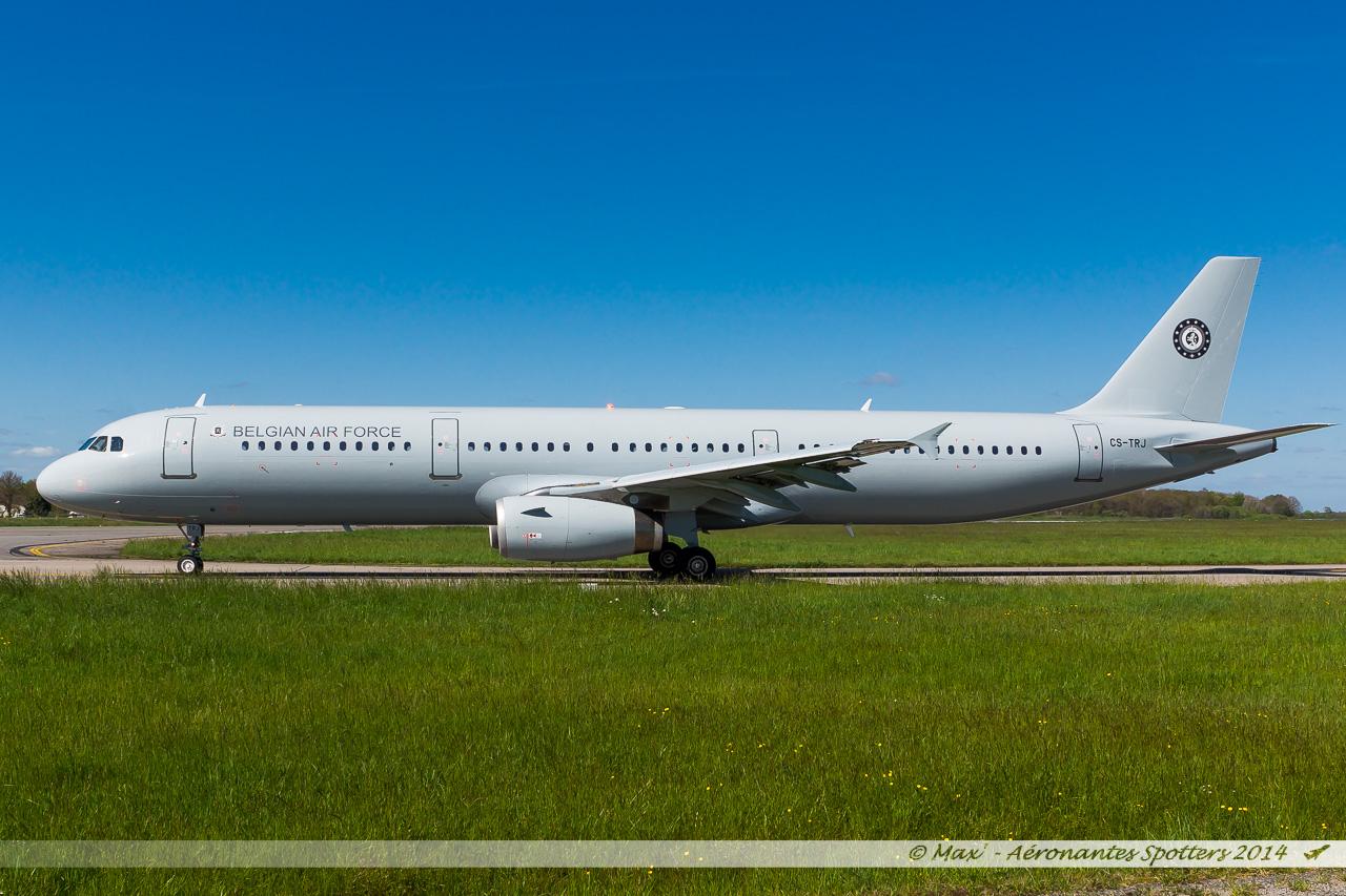 Spotting du 09/04/2014 : A321 Belgium Air Force ! 14040909042817438712136486