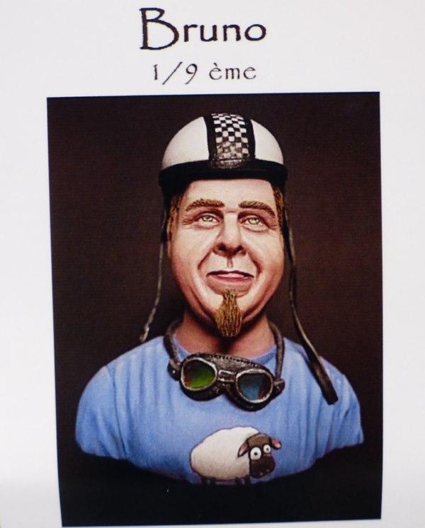 "Boniface Solex  (buste 1/9   alias ""Bruno"" NS prod) 1404121133089667012142734"