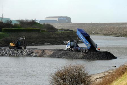 Driehoek Calais Sint-Omaars Duinkerke onder water? 14041504513414196112151451