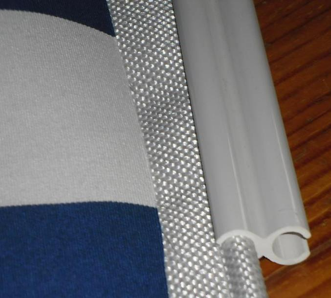 toile de jonc good with toile de jonc un fourreau si vous avez une barre ronde par laquelle la. Black Bedroom Furniture Sets. Home Design Ideas