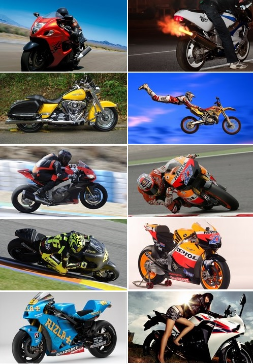 Wallpapers Motos