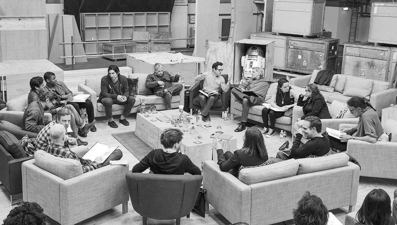 Star Wars, Le Réveil De La Force - Table Read