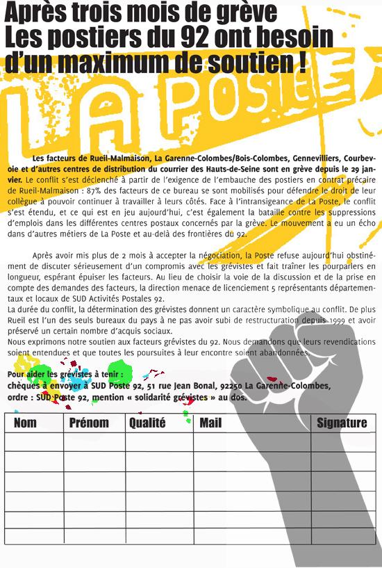 soirée de soutien aux grévistes des Hauts de Seine 1405021227113128012197101