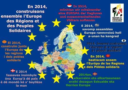 """""""Régions et Peuples Solidaires"""" 14052105452114196112255462"""