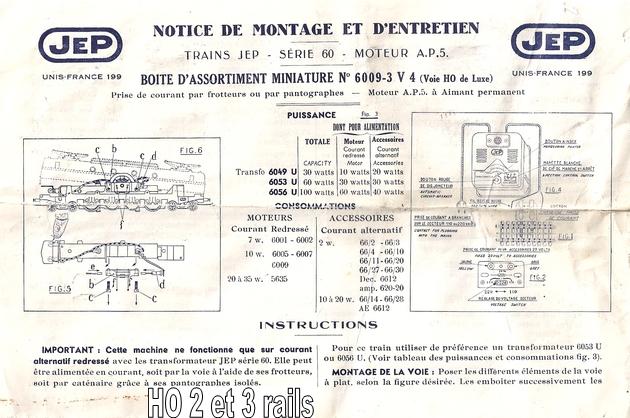 Jep (Jouet Electrique Parisien) marque Mytique 1405230451108789712260638