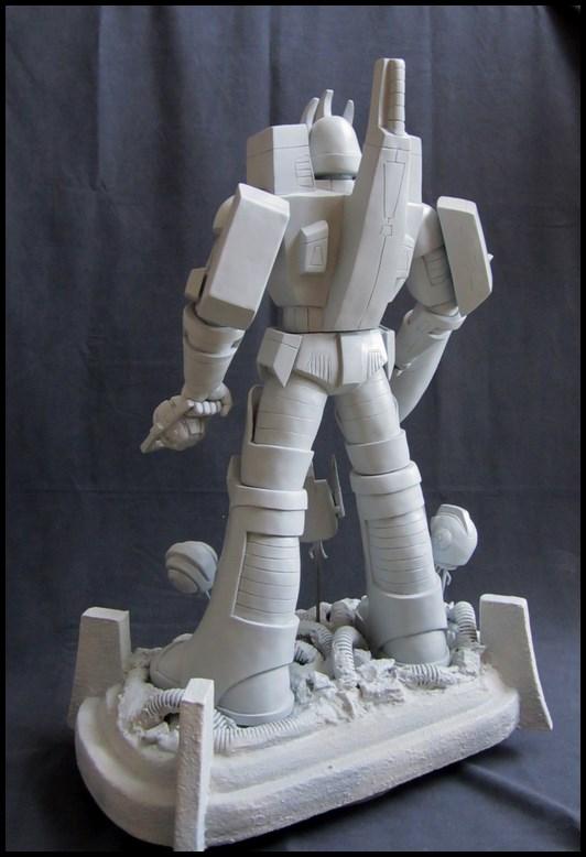 Galvatron statue  14052504484916083612264702