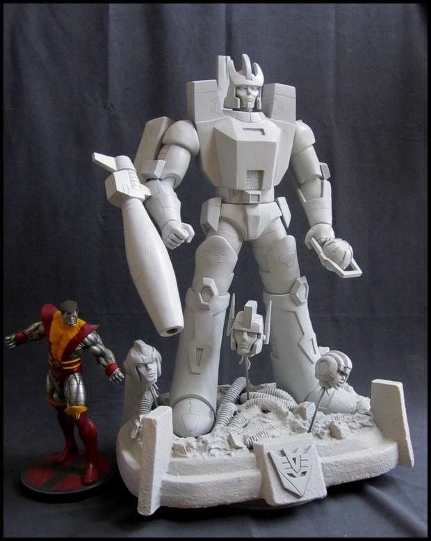 Galvatron statue  14052504485716083612264707