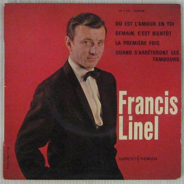 LINEL FRANCIS - Où est l'amour en toi - 45T (EP 4 titres)