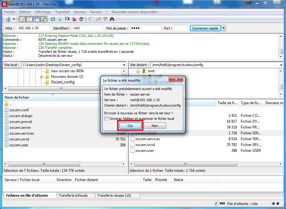 Tuto : Installer et configurer Oscam sur PrismCube [Archives