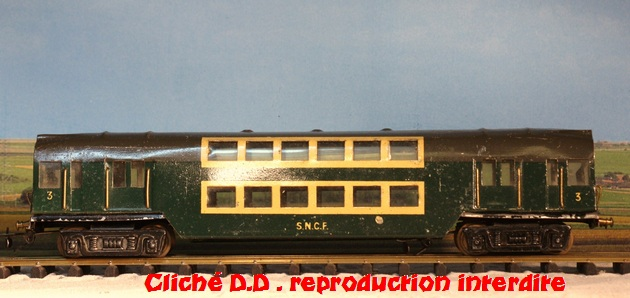 WAGONS  MARTIN 2ére série fabriqués après  1948 14060511354616773112292252