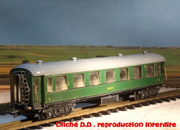 WAGONS  MARTIN 2ére série fabriqués après  1948 14060511354716773112292253