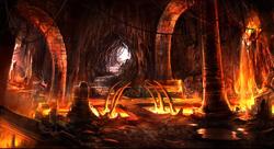 Fire Höhle