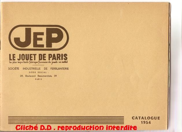 COFFRETS JEP  OO-HO de 1952 à 1959 série 60 14061103510816773112308859