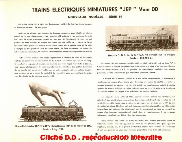 CATALOGUE    JEP 1953  -19