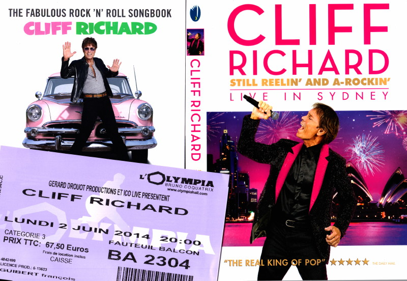 "CLIFF RICHARD, show ""STILL REELIN' AND A-ROCKIN'"" + album ""THE FABULOUS ROCK'N'ROLL SONGBOOK"" le 2 juin 2014 à l'OLYMPIA (Paris) : compte rendu 14062110152516724012334973"