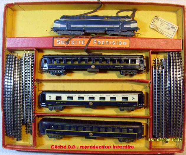 COFFRETS JEP HO de 1959 à 1964   -Avec le nouveau moteur AP5 Type 2-Avec le moteur  AP3 série 61 -Avec moteur mécanique 14062805520116773112351126