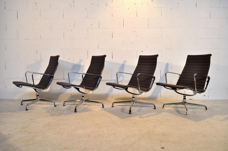 4 fauteuils eames ea 115 vitra herman miller 201 es 80 ebay