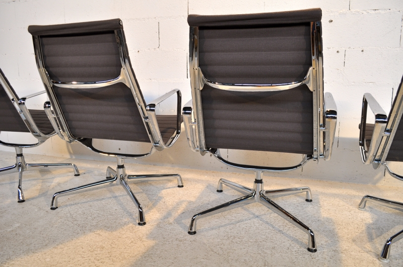 4 fauteuils eames ea 115 vitra herman miller ann es 80 39 ebay - Fauteuil herman miller ...