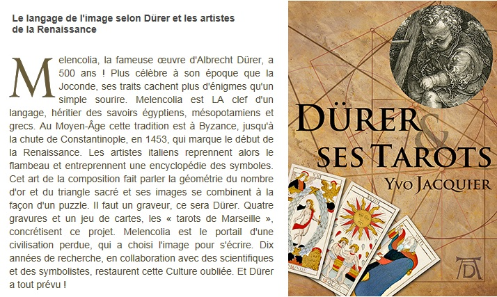 Dürer et ses tarots (Yvo Jacquier) 1406291058413850012352364