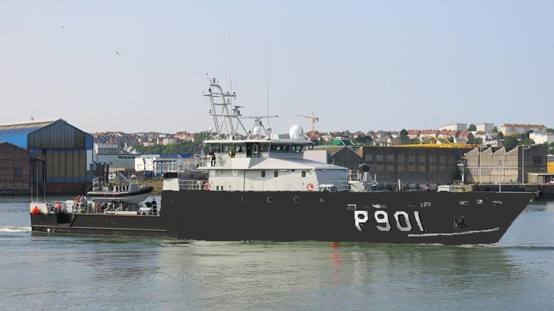 Le nouveau patrouilleur P901 CASTOR prend forme - Page 8 14063002540515523612355634