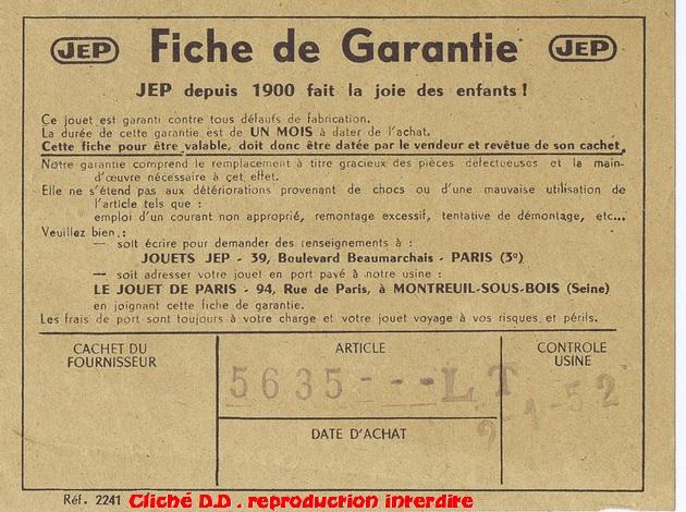 COFFRET 1952  232 BON G