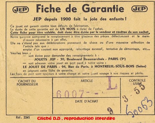 COFFRET 1955  2D2 BON G