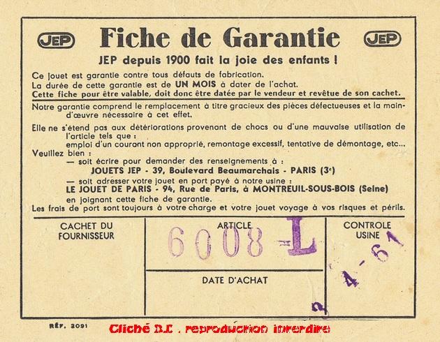 COFFRETS JEP HO de 1959 à 1964   -Avec le nouveau moteur AP5 Type 2-Avec le moteur  AP3 série 61 -Avec moteur mécanique 14070611024116773112368913