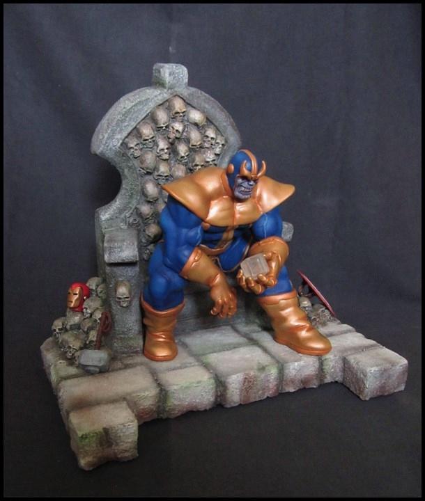Thanos on throne  (1)