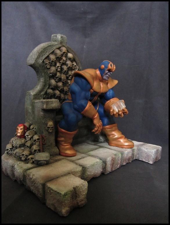 Statue Thanos sur son trône 1/6 14070807322416083612374708