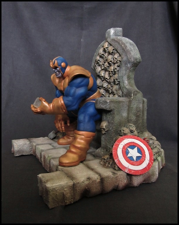 Thanos on throne  (5)