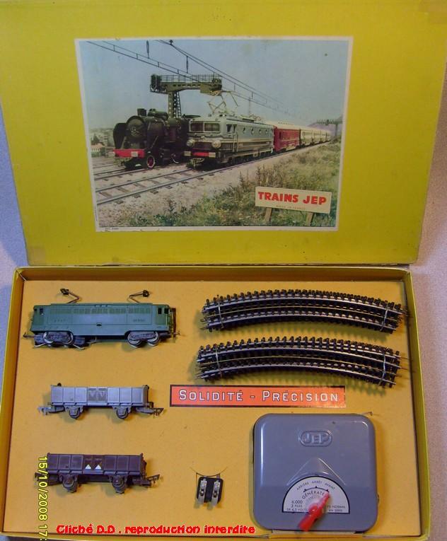 COFFRETS JEP HO de 1959 à 1964   -Avec le nouveau moteur AP5 Type 2-Avec le moteur  AP3 série 61 -Avec moteur mécanique 14071209561016773112381661