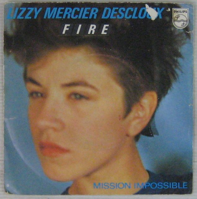 MERCIER DESCLOUX LIZZY - Fire/Mission Impossible - 7inch (SP)